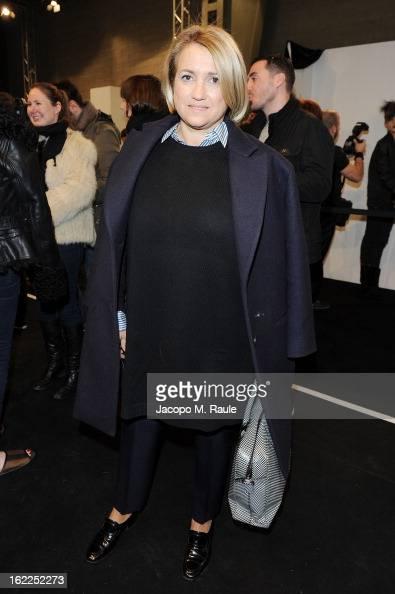Silvia Venturini Fendi attends the Fendi fashion show as part of Milan Fashion Week Womenswear Fall/Winter 2013/14 on February 21 2013 in Milan Italy