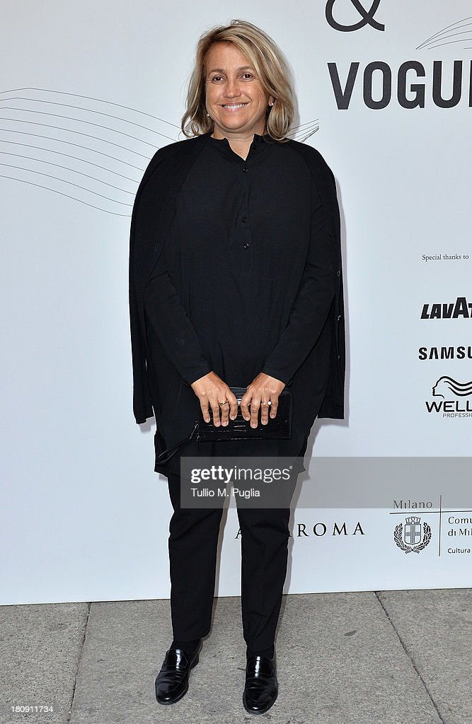 Silvia Venturini Fendi attends 'Who is On Next? & Vogue Talents' event at Palazzo Morando on September 17, 2013 in Milan, Italy.