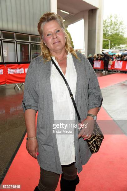 Silvia Wollny attends the 'BILD Renntag' at Trabrennbahn on May 1 2017 in Gelsenkirchen Germany