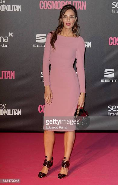 Silvia Zamora attends the 'Cosmopolitan Fun Fearless Female' awards 2016 at La Riviera Disco on October 18 2016 in Madrid Spain