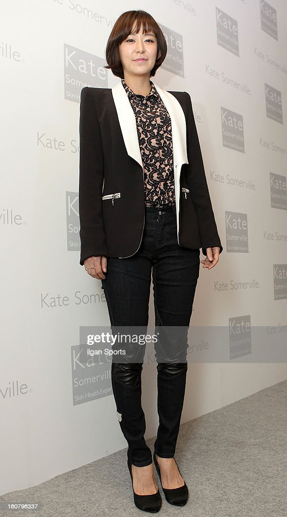 Sim Yi-Young attends the 'Kate Somerville' Launch Event at Park Hyatt Seoul on February 5, 2013 in Seoul, South Korea.