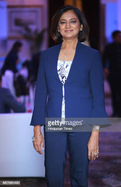 Sima Patel CEO and President Ridgemont Hospitality during CEO mission event organized by Visit California on November 17 2017 in New Delhi India In a...