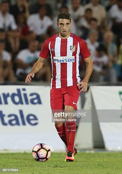 Sime Vrsaljko of Atletico de Madrid during presseason friendly match between FC Crotone and Club Atletico de Madrid at Stadio Comunale Gigi Marulla...