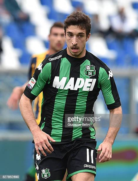 Sime Vrsaljko of US Sassuolo Calcio in action during the Serie A match between US Sassuolo Calcio and Hellas Verona FC at Mapei Stadium Citt���� del...