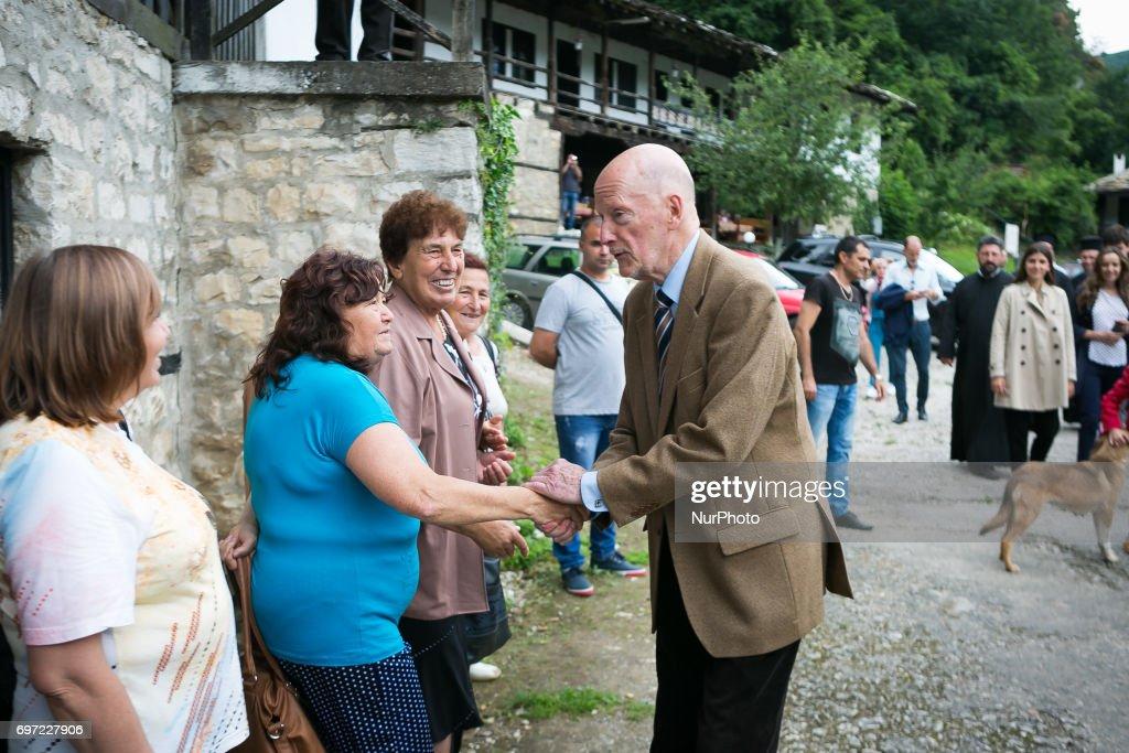Simeon Saxe-Coburg-Gotha on June 17th, 2017 in Vratsa region, Bulgaria for the his 80th Birthday.