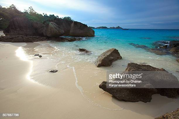 Similan, Andaman coast seaside of southern thailand.
