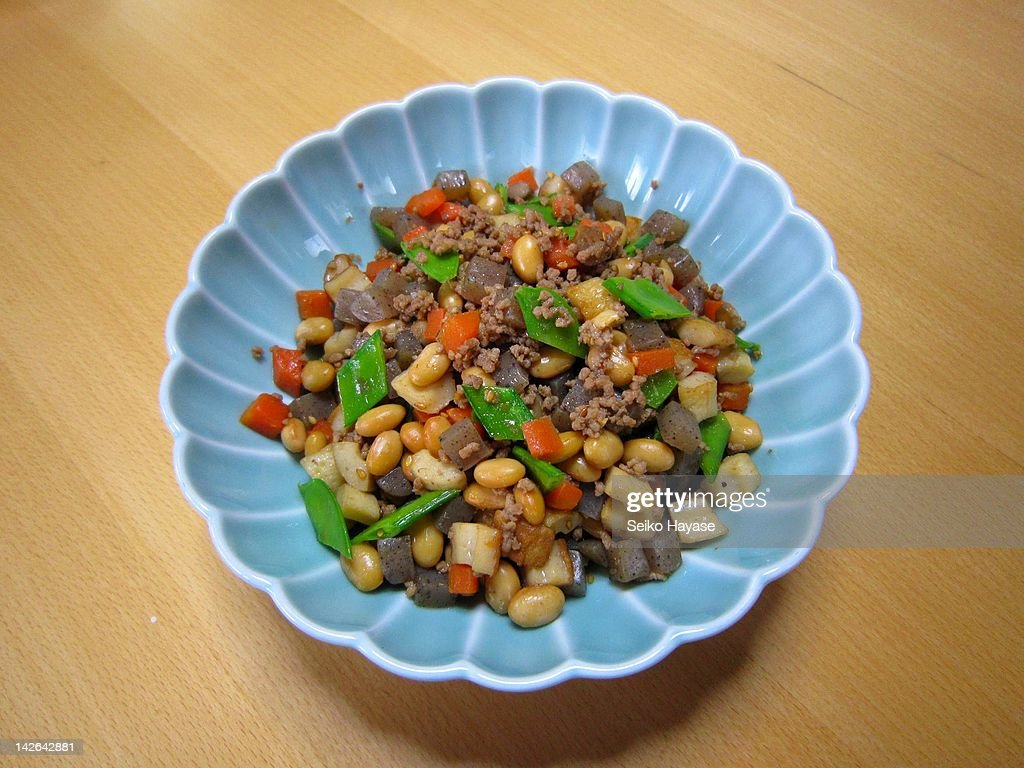 Simmered Vegetables : Stock Photo