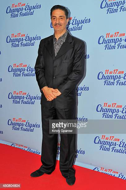 Simon Abkarian attends Day 6 of the Champs Elysees Film Festival on June 17 2014 in Paris France