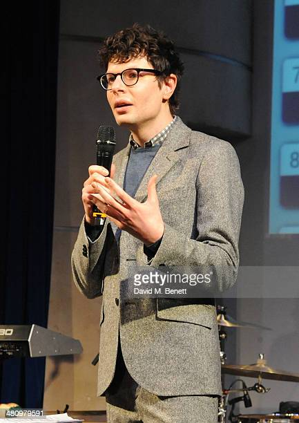 Simon Amstell attends Spectrum 2014 an annual fundraising event in support of the National Autistic Society to launch World Autism Awareness Month in...