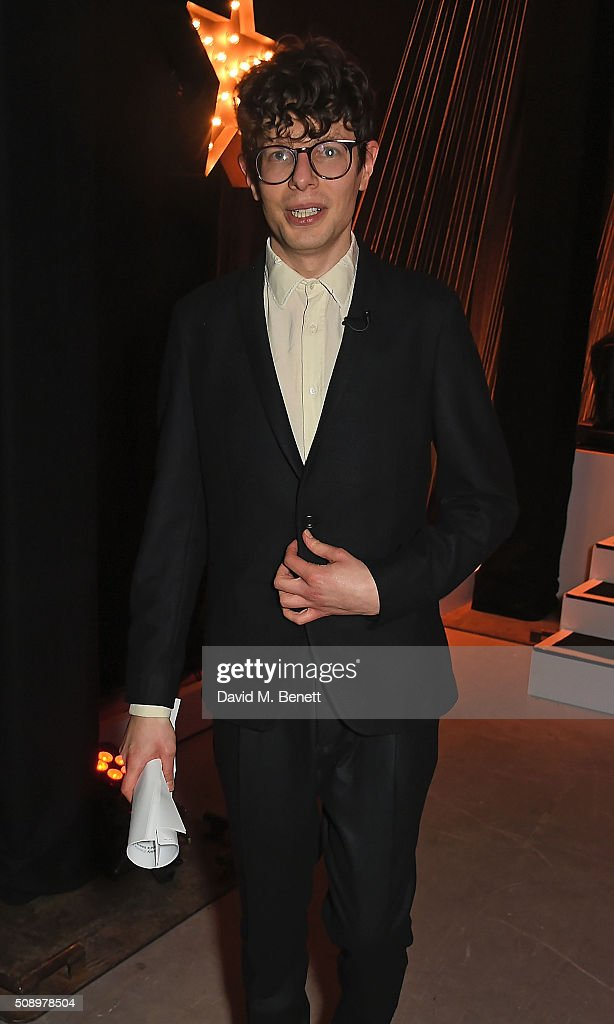 Simon Amstell attends the London Evening Standard British Film Awards at Television Centre on February 7, 2016 in London, England.