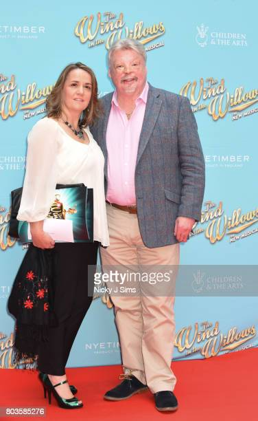 Simon and Lucy Weston and wife attend the Gala performance of Wind In The Willows at London Palladium on June 29 2017 in London England