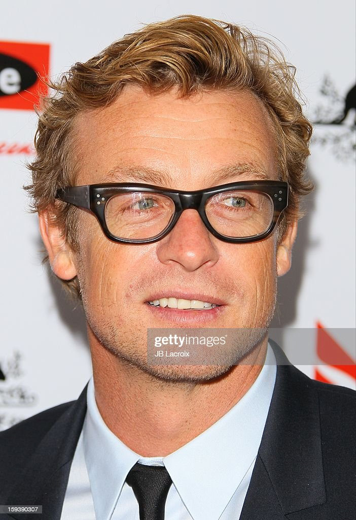 Simon Baker attends the 2013 G'Day USA Black Tie Gala at JW Marriott Los Angeles at L.A. LIVE on January 12, 2013 in Los Angeles, California.
