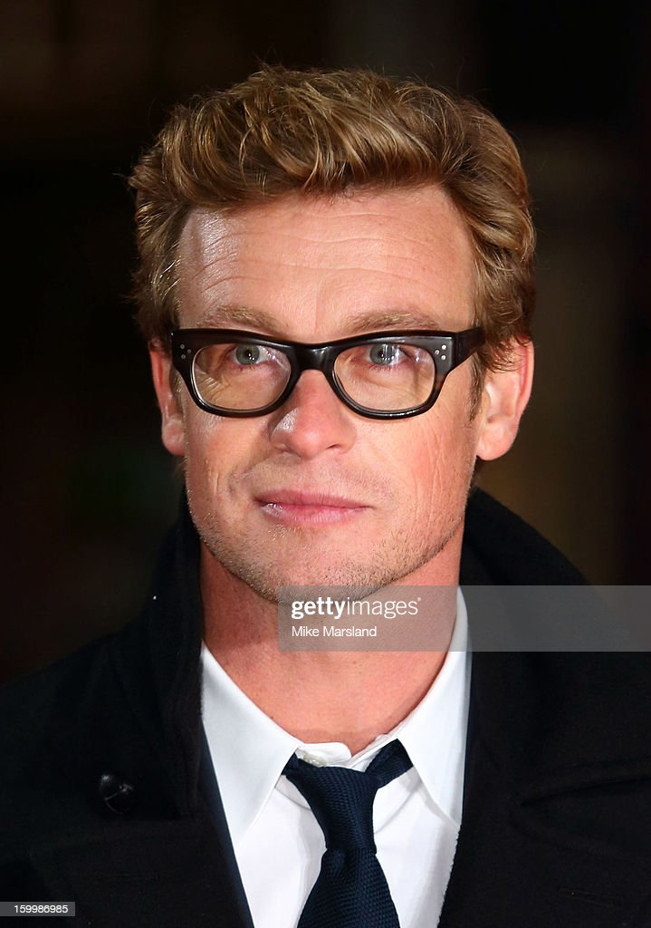 <a gi-track='captionPersonalityLinkClicked' href=/galleries/search?phrase=Simon+Baker&family=editorial&specificpeople=206176 ng-click='$event.stopPropagation()'>Simon Baker</a> attends the European Premiere of 'I Give It A Year' at Vue West End on January 24, 2013 in London, England.