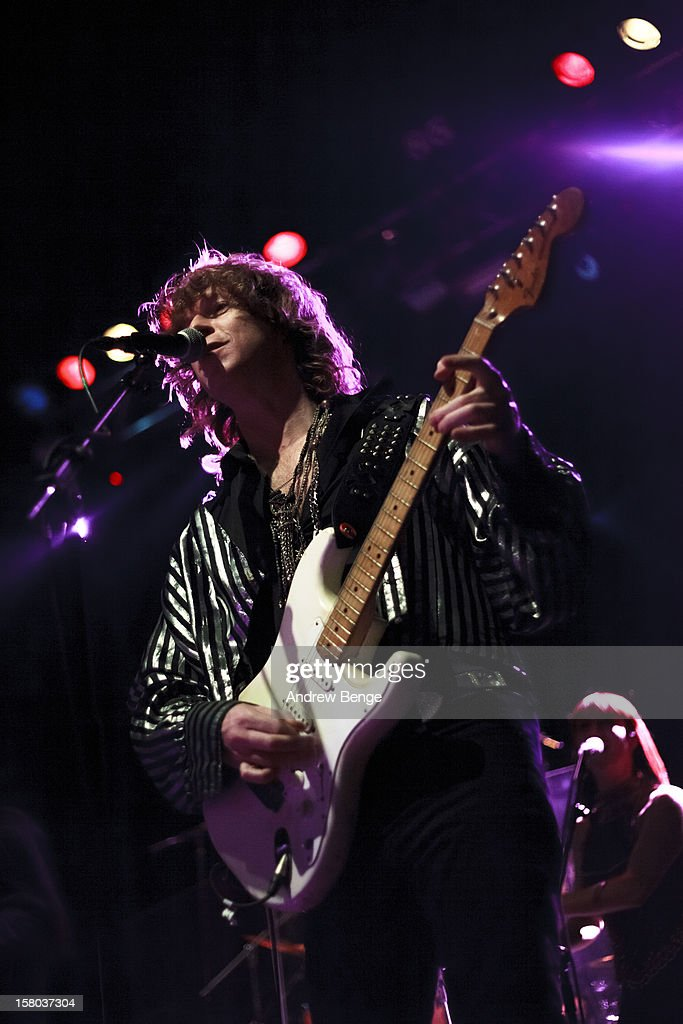 Simon Bartholomew of The Brand New Heavies performs on stage at HMV Ritz on December 9, 2012 in Manchester, England.