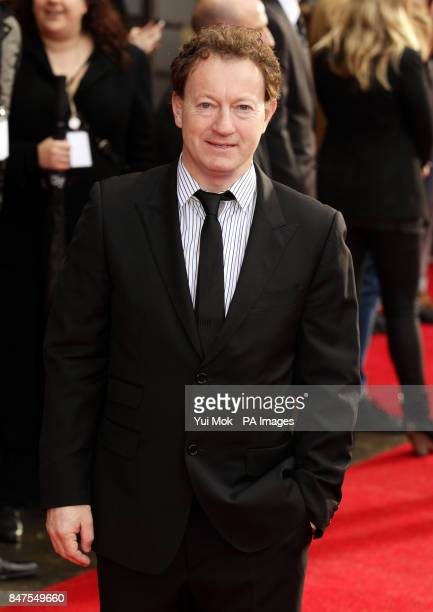 Simon Beaufoy who wrote the screenplay arriving for the UK premiere of Salmon Fishing In The Yemen at ODEON Kensington Kensington High Street in west...