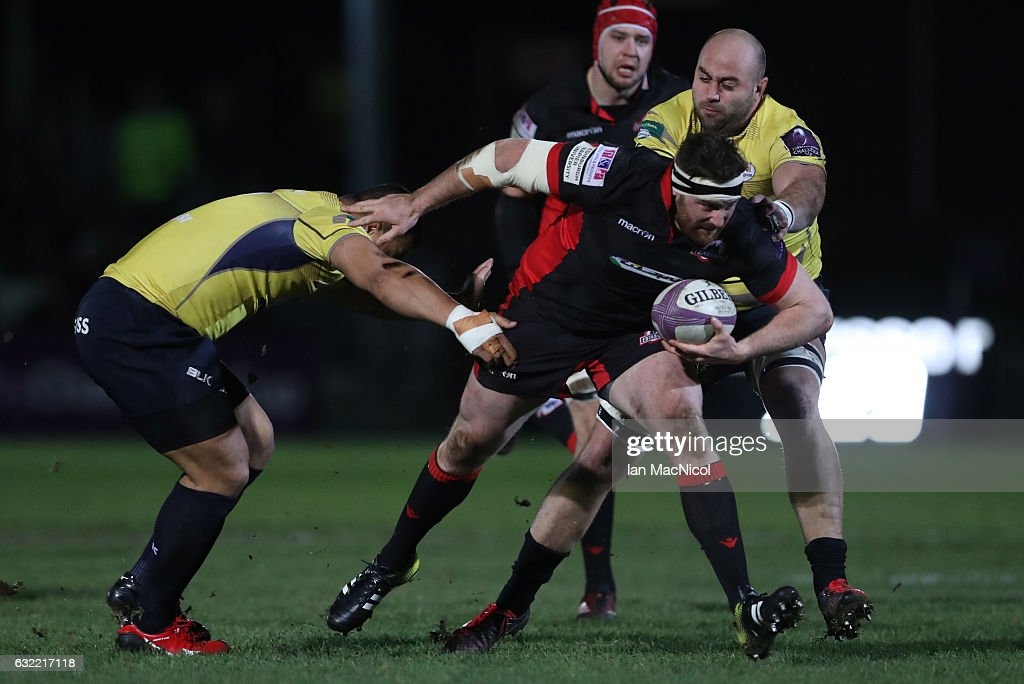 Edinburgh Rugby v Timisoara Saracens - European Rugby Challenge Cup : News Photo