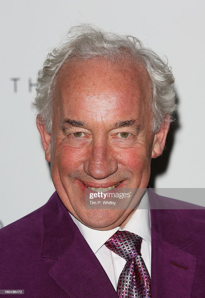 Simon Callow attends 'The View from The Shard' launch party at The Shard on January 31, 2013 in London, England. The Shard is Western Europes tallest building and opens to the public on 1st February.