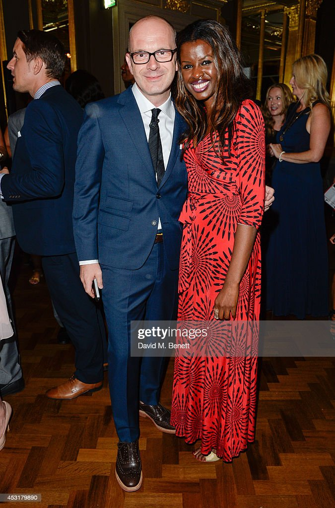Simon Collins June Sarpong attends the VIP charity event, which Drapers and WGSN Group, partnered with Parsons The New School for Design and the British Fashion Council to hold, in aid of the Prince's Trust Million Makers on August 4, 2014 in London, England. The event saw the launch the acclaimed book 'The School of Fashion: 30 Parsons Designers' by Simon Collins, Dean of Fashion at Parsons. The richly-illustrated volume explores the legacy of Parsons through the testimony of its brightest alumni, with interviews and sketches from Donna Karan, Alexander Wang, Jack McCullough and Lazaro Hernandez of Proenza Schouler, and many others.