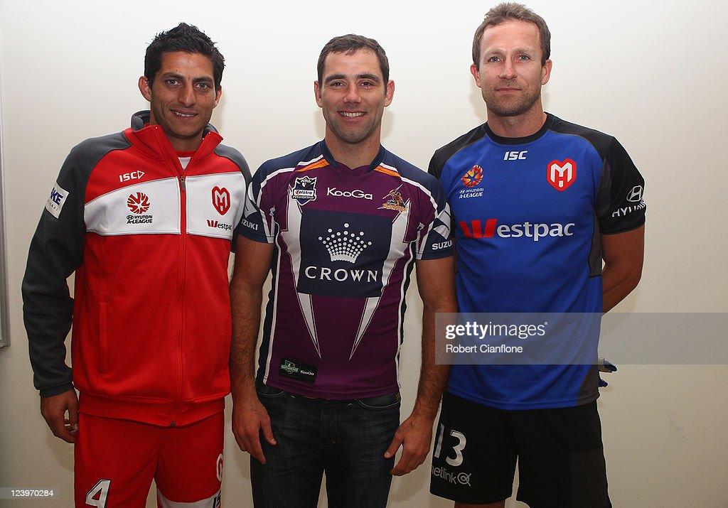 2011/12 A-League Headshots & Team Shot - Melbourne Heart