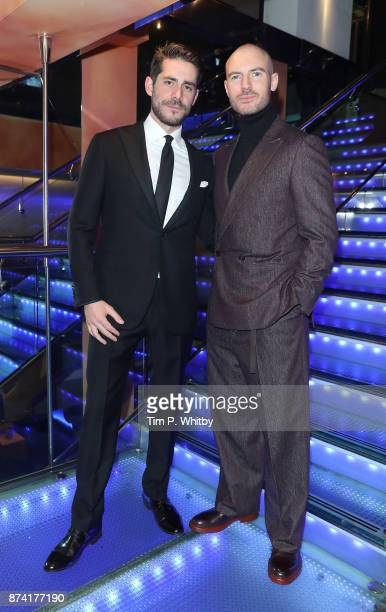 Simon Cotton and Richard Flood attend The Unseen Premiere at Vue Piccadilly on November 14 2017 in London England