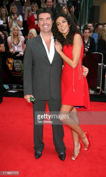 Simon Cowell and girlfriend Terri Seymour during The 2006 British Academy Television Awards Arrivals at Grosvenor House in London Great Britain