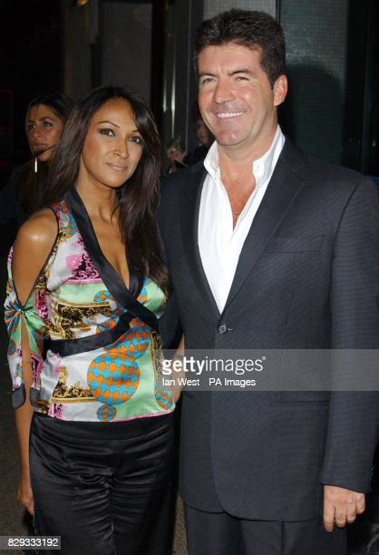 Simon Cowell and Jackie St Clair arrive for The Celebrity Awards at London Television Centre in central London The awards ceremony recognising the...