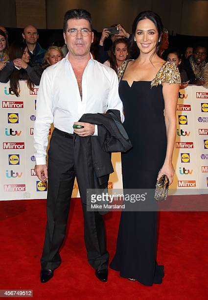 Simon Cowell and Lauren Silverman attends the Pride of Britain awards at The Grosvenor House Hotel on October 6 2014 in London England