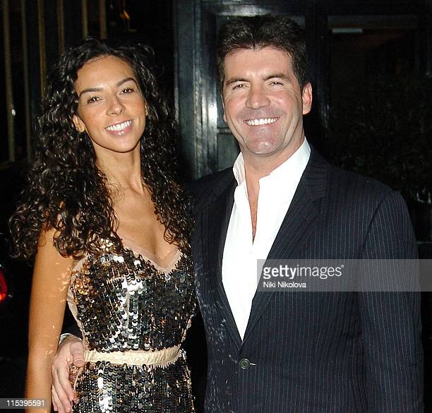 Simon Cowell and Terri Seymour *Exclusive Coverage*