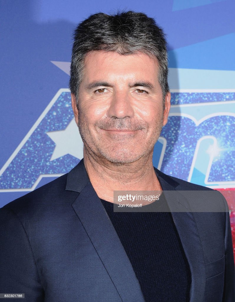 Simon Cowell arrives at NBC's 'America's Got Talent' Season 12 Live Show at Dolby Theatre on August 15, 2017 in Hollywood, California.