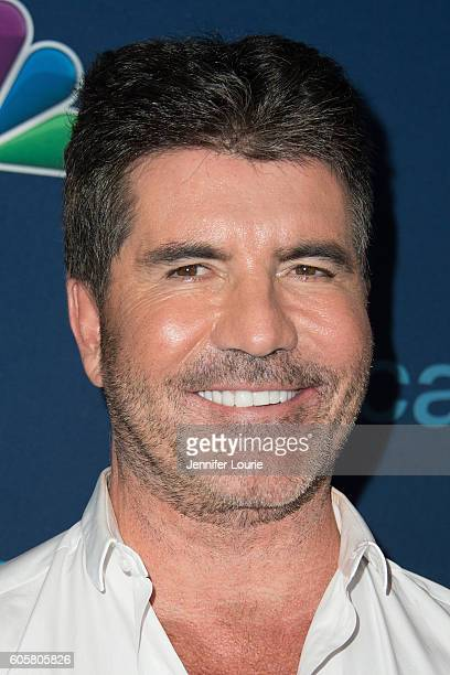 Simon Cowell arrives at the 'America's Got Talent' Season 11 Finale Live Show at the Dolby Theatre on September 14 2016 in Hollywood California