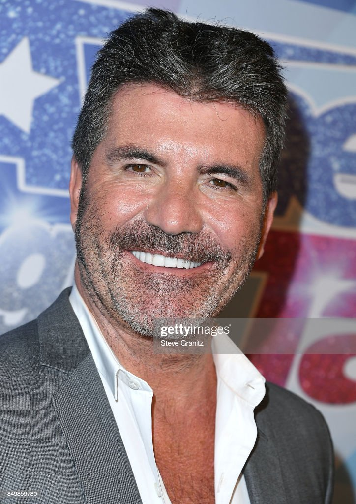 Simon Cowell arrives at the NBC's 'America's Got Talent' Season 12 Finale Week at Dolby Theatre on September 19, 2017 in Hollywood, California.