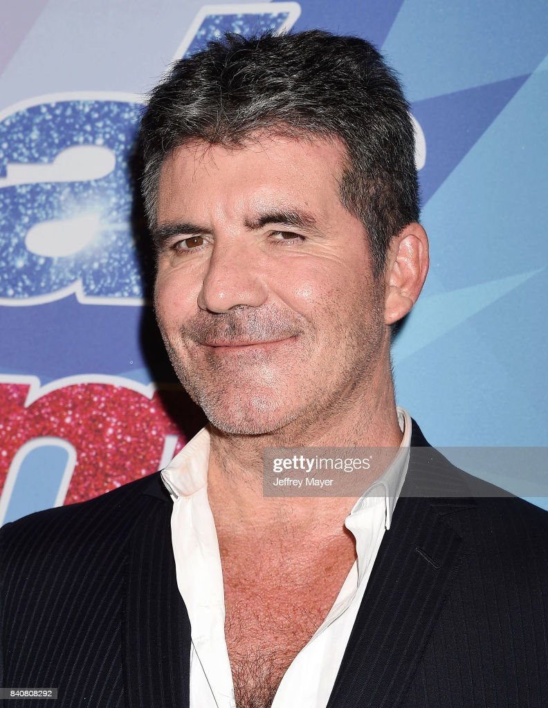 Simon Cowell arrives at the NBC's 'America's Got Talent' Season 12 Live Show at Dolby Theatre on August 29, 2017 in Hollywood, California.