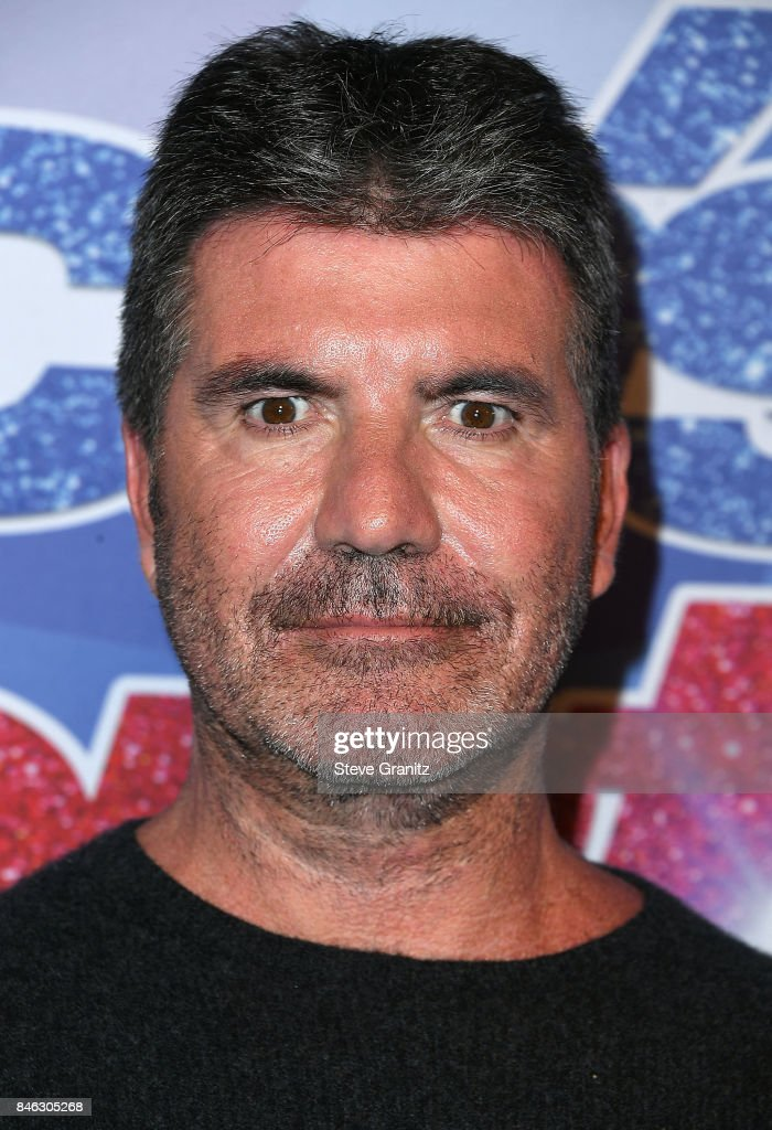 Simon Cowell arrives at the NBC's 'America's Got Talent' Season 12 Live Show at Dolby Theatre on September 12, 2017 in Hollywood, California.