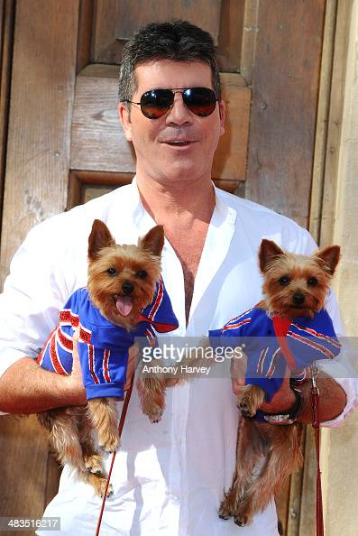 Simon Cowell attends a photocall for 'Britain's Got Talent' at St Luke's Church on April 9 2014 in London England