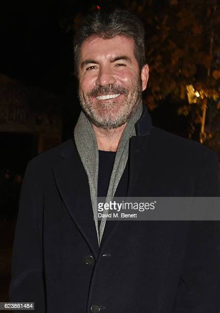 Simon Cowell attends a VIP Preview of Hyde Park's Winter Wonderland 2016 on November 17 2016 in London United Kingdom