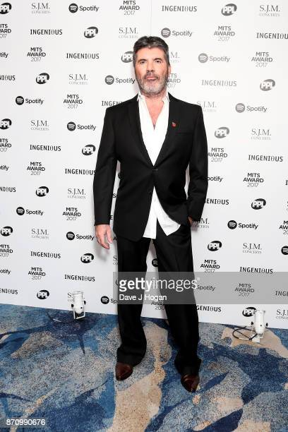 Simon Cowell attends the 26th annual Music Industry Trust Awards held at The Grosvenor House Hotel on November 6 2017 in London England