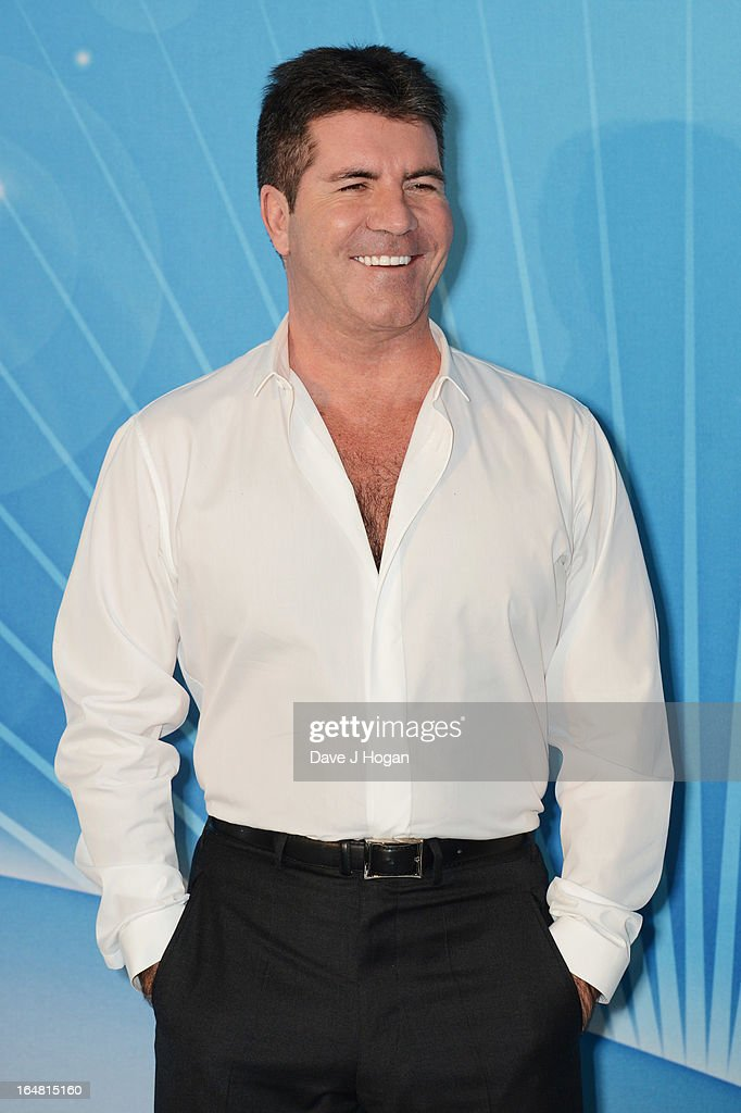 Simon Cowell attends the Health Lottery champagne tea at Claridges on March 28, 2013 in London, England.