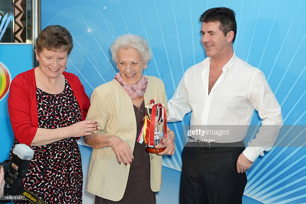 <a gi-track='captionPersonalityLinkClicked' href=/galleries/search?phrase=Simon+Cowell&family=editorial&specificpeople=203007 ng-click='$event.stopPropagation()'>Simon Cowell</a> attends the Health Lottery champagne tea at Claridges on March 28, 2013 in London, England.