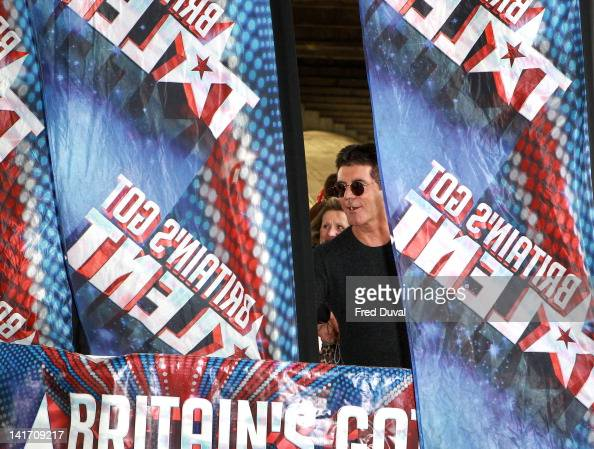 Simon Cowell attends the launch for Britain's Got Talent at BFI Southbank on March 22 2012 in London England