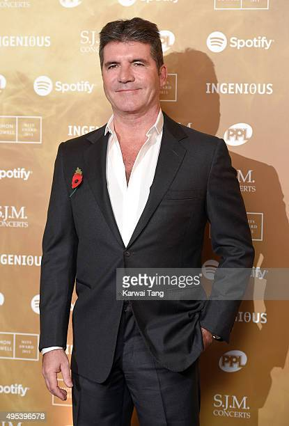 Simon Cowell attends the Music Industry Trusts Awards in aid of the Nordoff Robbins charity and BRIT Trust at The Grosvenor House Hotel on November 2...
