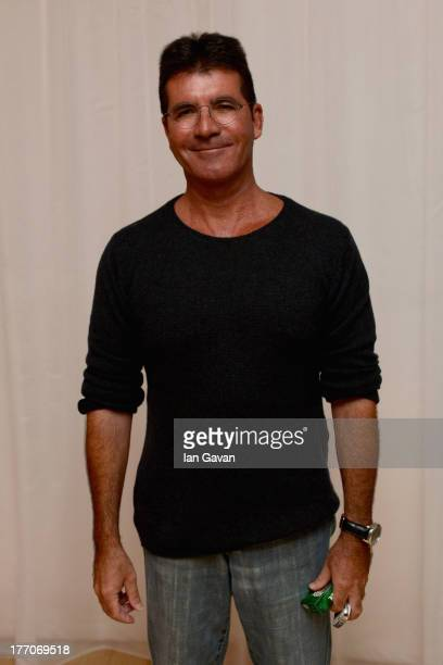 Simon Cowell attends the 'One Direction This Is Us' world premiere after party on August 20 2013 in London England