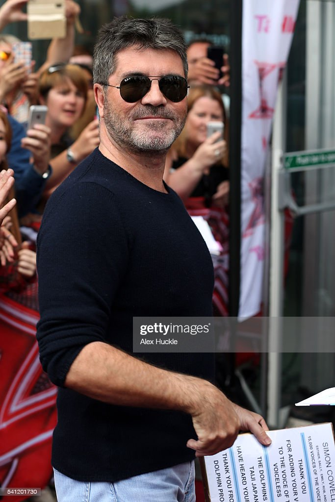 Simon Cowell attends the X Factor Auditions on June 19, 2016 in London, England.