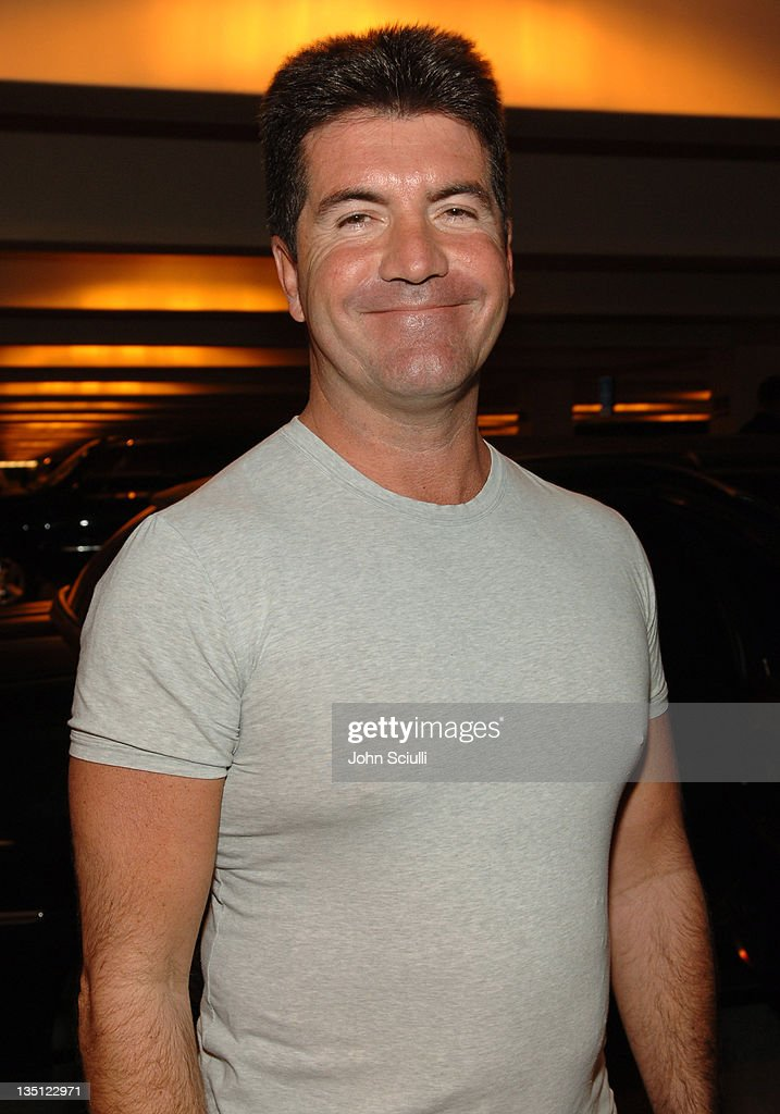 Simon Cowell during Mattel Celebrity Retreat Presented by Backstage Creations at Kids' Choice Awards '05 - Day 2 at UCLA Pauley Pavilion in Westwood, California, United States.