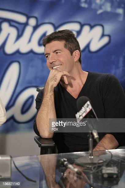 Simon Cowell judge during 'American Idol' Season 6 Birmingham Audtions Day 1 Airing on January 30 2007 in Birmingham Alabama United States