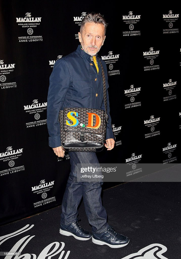 Simon Doonan attends The Macallan Masters Of Photography Series launch at The Bowery Hotel on October 10, 2012 in New York City.