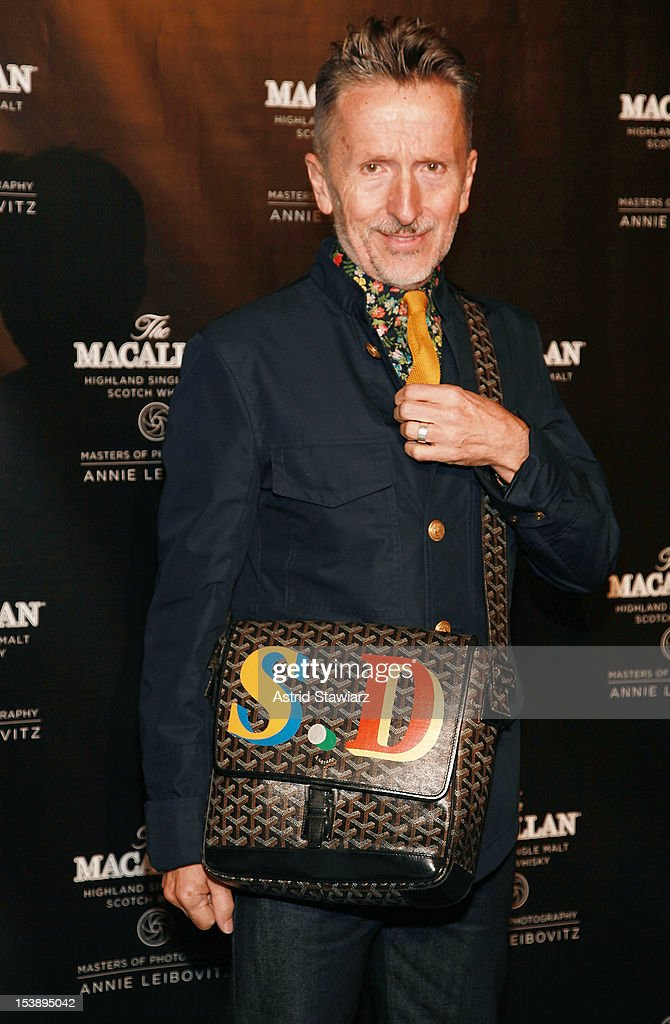 Simon Doonan attends The Macallan Masters Of Photography Series at The Bowery Hotel on October 10, 2012 in New York City.