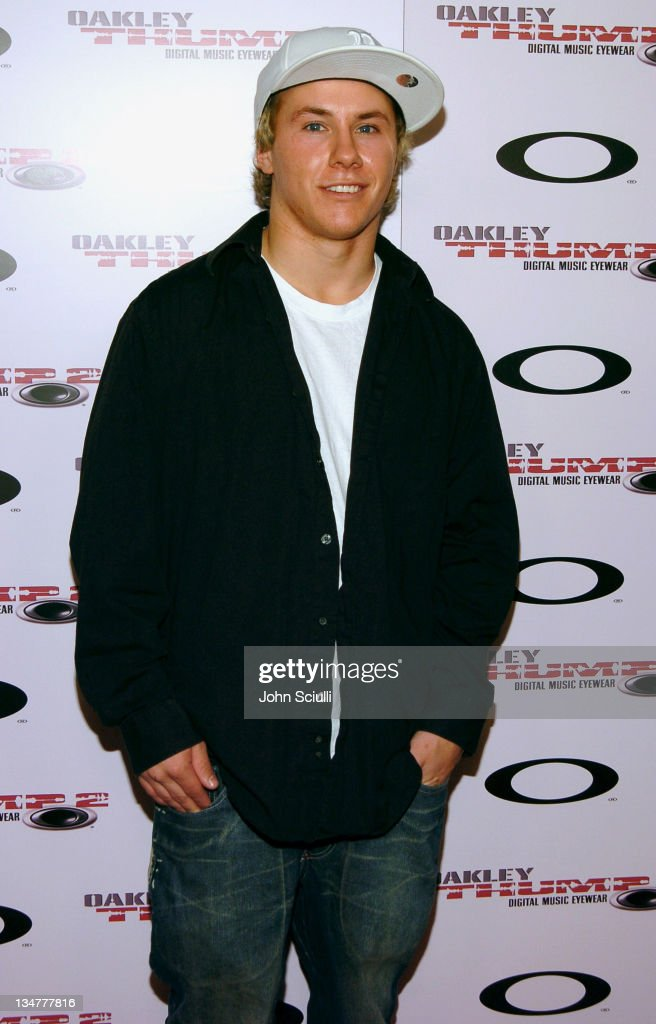 <a gi-track='captionPersonalityLinkClicked' href=/galleries/search?phrase=Simon+Dumont&family=editorial&specificpeople=221236 ng-click='$event.stopPropagation()'>Simon Dumont</a> during Oakley Thump 2 Launch Party - October 12, 2005 at Montmartre Lounge in Hollywood, California, United States.