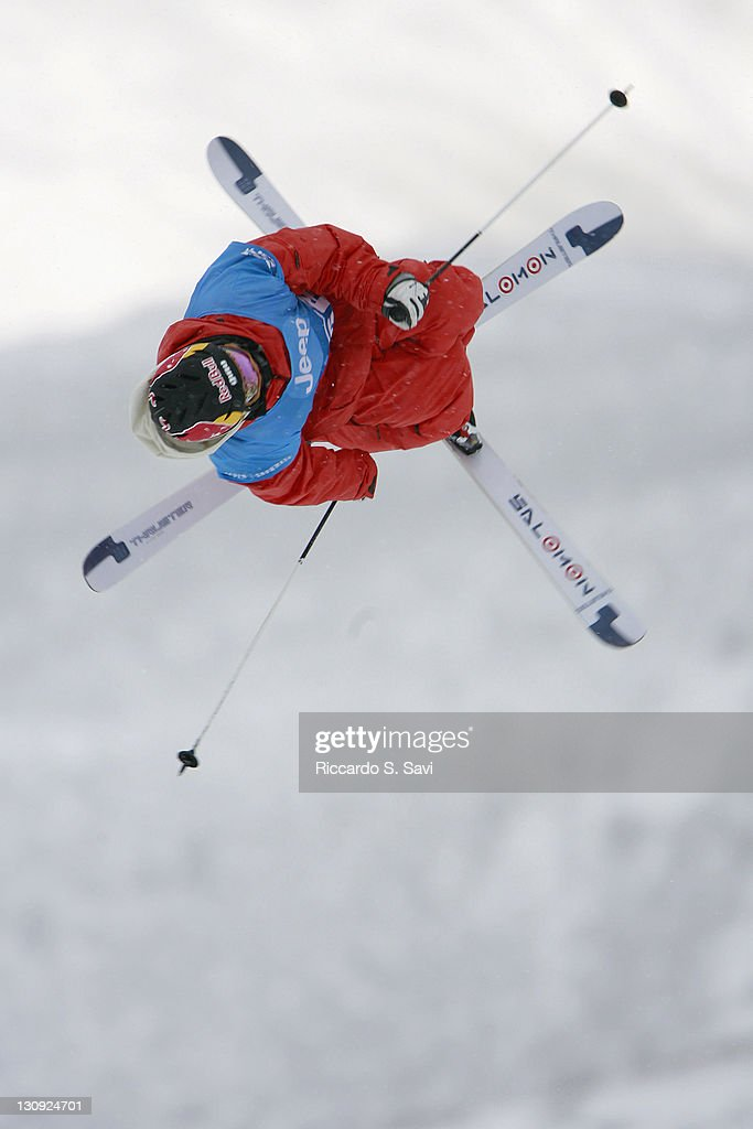 <a gi-track='captionPersonalityLinkClicked' href=/galleries/search?phrase=Simon+Dumont&family=editorial&specificpeople=221236 ng-click='$event.stopPropagation()'>Simon Dumont</a> in action during the Men's Skiing Best Trick Final (Slopestyle) at the 2006 Winter X Games 10 in Aspen, Colorado on January 29, 2006