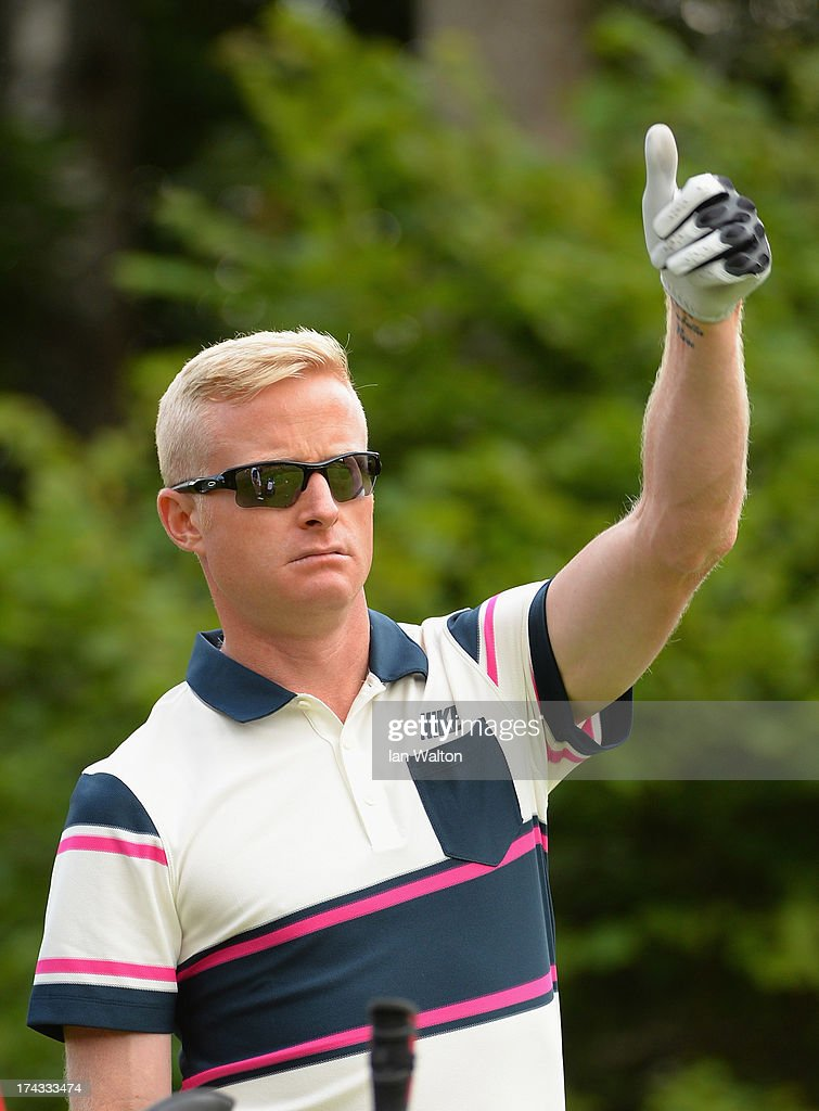 <a gi-track='captionPersonalityLinkClicked' href=/galleries/search?phrase=Simon+Dyson&family=editorial&specificpeople=214775 ng-click='$event.stopPropagation()'>Simon Dyson</a> of England during the Pro-Am of the M2M Russian Masters at Tseleevo Golf & Polo Club on July 24, 2013 in Moscow, Russia.