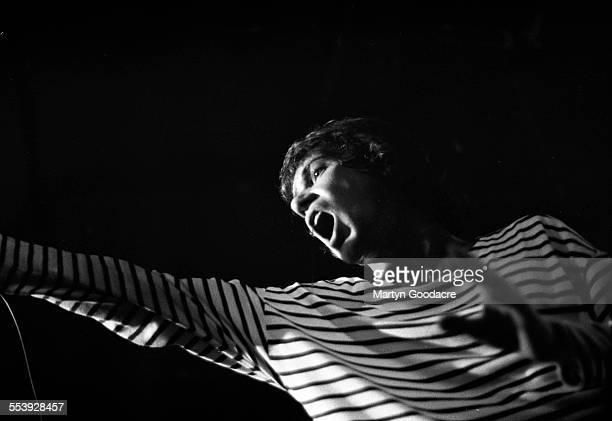 Simon Fowler of Ocean Colour Scene performs on stage in Birmingham United Kingdom 1990